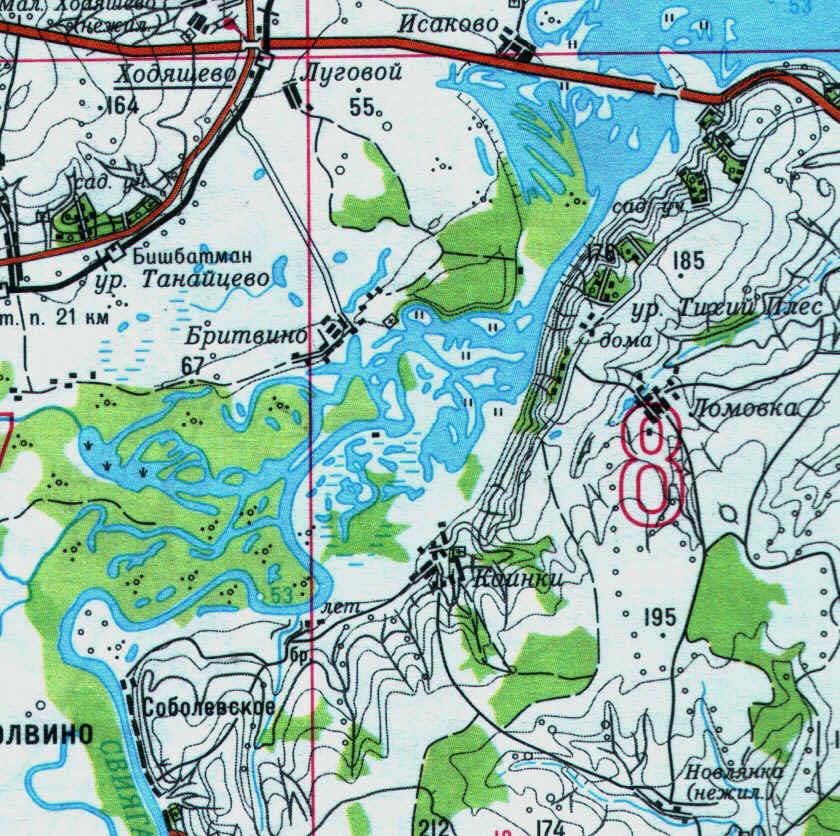 рыбалка ульяновская на карте